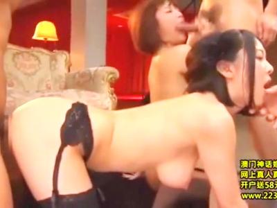 ダブルキャスト★デカマラ激ハント!!ペニバンレスビ★アン★78・56・80★SEXする美人